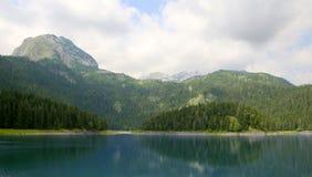 Schwarzer See Durmitor Nationalpark Montenegro Stockfoto
