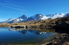Schwarzer See, Hochebenede Paris in den Alpen, Frankreich Lizenzfreies Stockbild