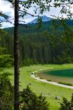 Schwarzer See, Nationalpark Durmitor, Zabljak, Montenegro Lizenzfreie Stockfotos