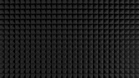 Schwarzer solider Isolierungsschaumberuflicher hintergrund/-beschaffenheit Stockfotos