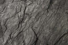 schwarzer Stein für Muster und Hintergrund Lizenzfreie Stockfotografie