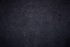 Schwarzer strukturierter Hintergrund Stockbilder
