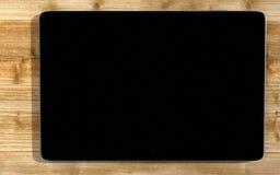 Schwarzer Tablette-PC lizenzfreie stockfotografie