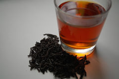 Schwarzer Tee Lizenzfreies Stockfoto