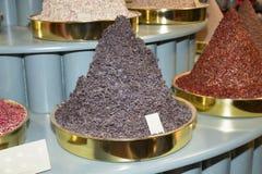 Schwarzer Tee - Stand stockfoto