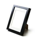 Schwarzer Tischplattenbilderrahmen Stockbilder