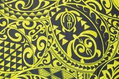 Schwarzer und gelber Dschungelhintergrund Lizenzfreie Stockfotos