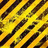 Schwarzer und gelber Hintergrund Lizenzfreie Stockfotos