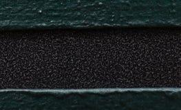 Schwarzer und grüner Hintergrund Stockfotografie