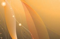 Schwarzer und orange Hintergrund   Stockfotografie
