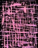 Schwarzer und rosafarbener Grunge Hintergrund Stockfoto