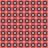 Schwarzer und roter abstrakter Hintergrund stock abbildung