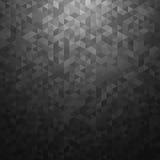 Schwarzer Vektorzusammenfassungshintergrund Stockbild