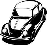Schwarzer Volkswagen-Programmfehler Stockfotografie