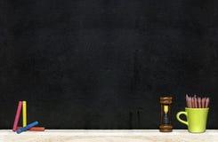 Schwarzer Vorstand Stockfoto