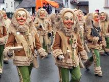 Schwarzer Waldkarneval, Deutschland Lizenzfreies Stockfoto