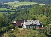 Schwarzwaldlandschaft zur Sommerzeit Stockfotos