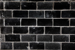 Schwarzer Ziegelstein Stockfotografie