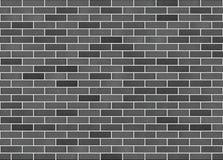 Schwarzer Ziegelstein Stockbilder