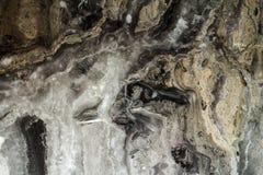 Schwarzes abstraktes Hintergrundmarmorierungmuster mit hoher Auflösung Weinlese- oder Schmutzhintergrund der alten Wandbeschaffen Lizenzfreie Stockfotos