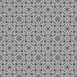 Schwarzes abstraktes Muster Stockfotografie