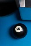 Schwarzes acht Stockbild