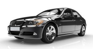 Schwarzes Auto Lizenzfreies Stockbild