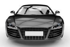 Schwarzes Auto Stockfoto