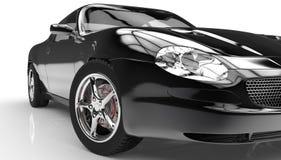Schwarzes Auto Stockbilder