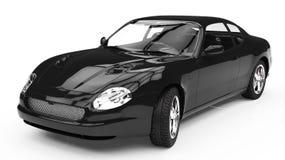 Schwarzes Auto Lizenzfreie Stockbilder