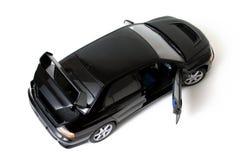 Schwarzes Auto. Lizenzfreies Stockfoto