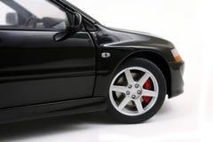 Schwarzes Auto. Stockbild