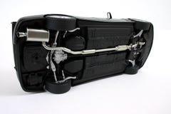 Schwarzes Auto. Lizenzfreies Stockbild