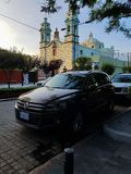 Schwarzes Auto Lizenzfreies Stockfoto