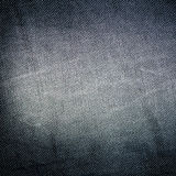 Schwarzer Baumwollstoffhintergrund Lizenzfreie Stockfotografie