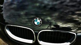Schwarzes BMW-Auto Stockbilder