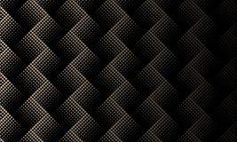 Schwarzes braunes Halbton punktierte abstrakten Hintergrund lizenzfreie abbildung