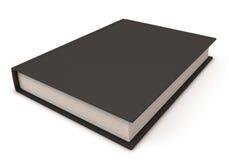 Schwarzes Buch stock abbildung