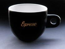 Schwarzes Cup lizenzfreie stockfotografie