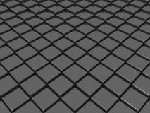 Schwarzes Dach Lizenzfreies Stockfoto