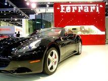 Schwarzes Ferrari-Kalifornien Stockfotografie