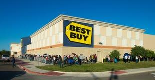 Schwarzes Freitag-Einkaufen Stockfoto