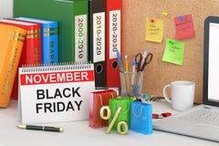 Schwarzes Freitag-Konzept Lizenzfreie Stockbilder