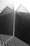 Schwarzes Gebäude Lizenzfreie Stockfotos