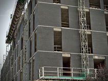 Schwarzes Gebäude Lizenzfreies Stockfoto