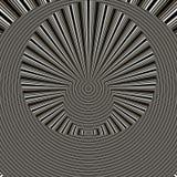 Schwarzes geometrisches abstraktes backgound in den orange Farben Stockfoto