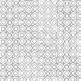 Schwarzes geometrisches Muster Stockbild