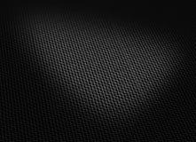 Schwarzes gesponnene Kohlenstofffaser Stockfoto