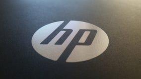 Schwarzes graues HP Stockfotografie