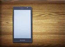 Schwarzes intelligentes Telefon lizenzfreies stockbild